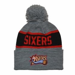 Czapka zimowa Mitchell  Ness NBA Philadelphia 76ers Team Tone Knit - PHIL76 INTL536