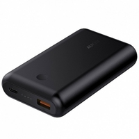Aukey pb-xd10 black ultraszybki power bank | 10050 mah | 2xusb | 5.4a | quick charge 3.0 | power delivery | kabel usb-c