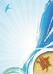 Żółw tablica suchościeralna magnetyczna 090