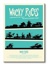 Wacky races - obraz na płótnie