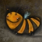Pszczółka - plakat wymiar do wyboru: 91,5x61 cm