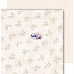 Papier 30,5x30,5 cm - Ever and Always - Ecru - ecru