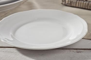 Karolina alba biała talerz płytki 19 cm 0000