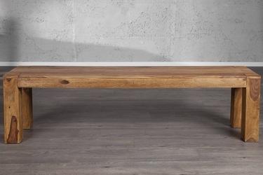 Drewniana ławka makassar 160 cm