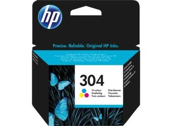 Oryginalny tusz HP 304 Tri-color N9K05AE