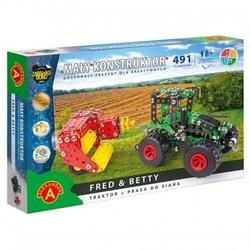 Alexander mały konstruktor maszyny rolnicze - fredbetty - traktor i prasa do siana