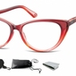 Plusy okulary do czytania i komputera kocie mr64b