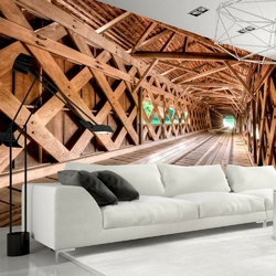 Fototapeta - drewniany most