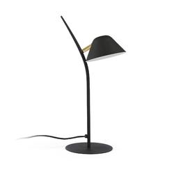 Metalowa lampa stołowa mystic czarna