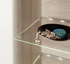 Oświetlenie 2 led zielone high glossy furniture
