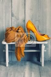 Plakat obuwie
