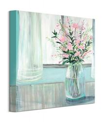 Bukiet polnych kwiatów - obraz na płótnie
