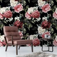 Tapeta na ścianę - rosen shadow , rodzaj - tapeta flizelinowa
