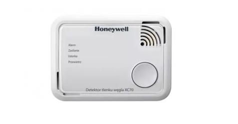 Honeywell  detektor tlenku węgla czadu z funkcją alarm scan -  wykonanie standardowe