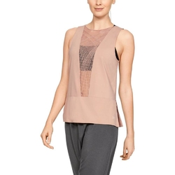 Koszulka damska under armour misty signature embroidery tank
