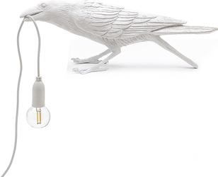 Lampa bird biała zewnętrzna playing