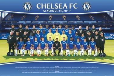 Chelsea londyn drużyna zdjęcie 1617 - plakat