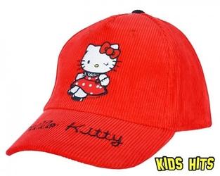 Czapka z daszkiem hello kitty red