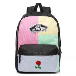 Plecak vans realm checkwork custom rose - vn0a3ui6vdk - rose