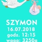 Metryczka dla chłopczyka - plakat wymiar do wyboru: 21x29,7 cm