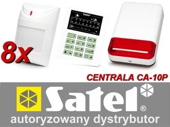 Alarm satel ca-10 led, 8xaqua pet, syg. zew. spl-2030 - szybka dostawa lub możliwość odbioru w 39 miastach