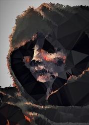 Polyamory - the ashen one, dark souls - plakat wymiar do wyboru: 40x50 cm