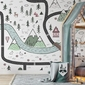 Tapeta dla dzieci - once upon a time , rodzaj - tapeta flizelinowa