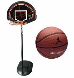 Zestaw do koszykówki Lifetime Chicago 90022 + Piłka do koszykówki Air Jordan Legacy