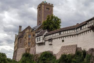 Fototapeta zamek wartburg fp 1253