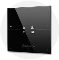 Grenton - smart panel 4b, oled, tf-bus, czarny 2.0 - szybka dostawa lub możliwość odbioru w 39 miastach