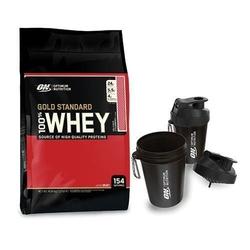 Optimum nutrition whey gold standard - 4540g + shaker smartshake on - 400ml