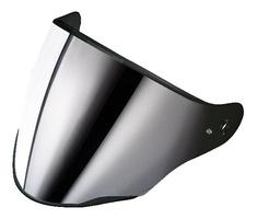 Caberg wizjer z pinami flyon  srebrne lustro