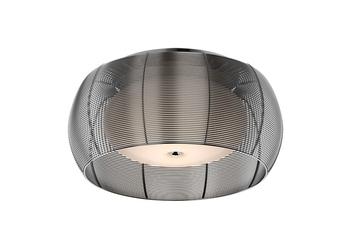 Lampa wewnętrzna sufitowa tango srebrna