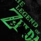 Typography stencils - the legend of zelda - plakat wymiar do wyboru: 21x29,7 cm