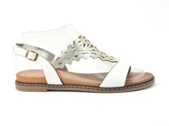 Sandały sergio leone sk011 biały