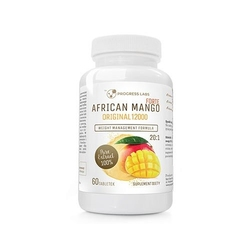 Progress labs african mango forte original 20:1 600mg 60 tabs spalacz