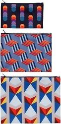 Saszetki zip pockets 3 szt. geometric