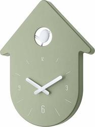 Zegar ścienny Toc Toc zieleń eukaliptusowa