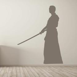 szablon na ścianę karate budo 18SM64