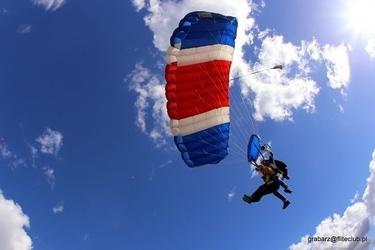Skok ze spadochronem z wideorejestracją - włocławek ii