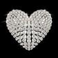 Naklejka samoprzylepna Serce diamentu