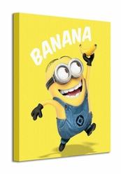 Despicable Me Banana - Obraz na płótnie