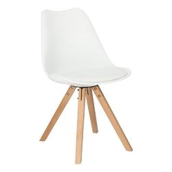Krzesło norden star square pp białe 1606 - biały