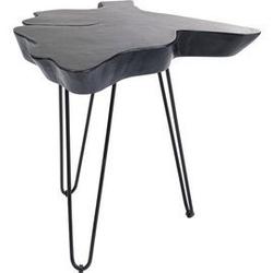 Kare design :: stolik kawowy aspen czarny wys. 50 cm