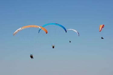 Lot paralotnią z akrobacjami dla dwojga - wrocław