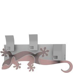 Wieszak ścienny dekoracyjny Gecko CalleaDesign antyczny-różowy 54-13-2-32