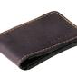Czarny cienki portfel slim wallet brødrene sw02