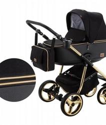 Wózek adamex reggio special edition 3w1 + fotel gold