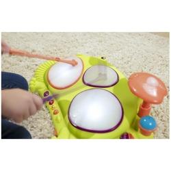 Żabka perkusja instrument ribbit-tat-tat