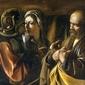 Reprodukcja denial of saint peter, michelangelo caravaggio